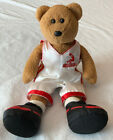 TY SHAQ BEANIE BABY - 'KNOWLEDGE BEST GIFT' Basketball Player Bear No Hang Tag
