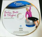 Weight WatchersBelly ButtThighs DVD 2011Disc Only Free Ship No Track