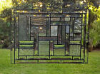 Bevel Mania Stained Glass Panel 44 Clear Bevels  Textured Glass 20 x 145