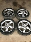 Porsche 996 911 993 Staggered 18 Wheels 99336213405 99336214004