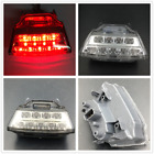 Motorcycle LED Tail Brake Light Turn Signal For Kawasaki 2011-2014 ZX-10R Clear