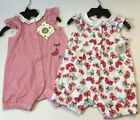 Little Me Baby girls 2 pack Butterflies theme 6 months new w tags