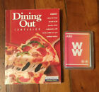 Lot of 2 Weight Watchers Mix  Flip Exercise Cards Dining Out Companion