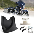 Front Chin Fairing Mudguard Spoiler For Touring Dyna Softail Road King 2004-2017
