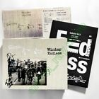 Autographed 簽� Sodagreen 蘇打綠 Winter Endless 冬 未了 Taiwan 2 CD BD BOX Book 蘇打誌 9