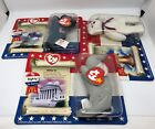 Ty Beanie Babies American Trio 2000. Mint. Plus Wiggly, Siberia And Scarlet.