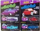 Johnny Lightning Hot Rods Collectors Edition Real Wheels Lot of 4 Different