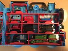 Thomas The Tank Engine Take N Play Carry Case With 21 Diecast Train Pieces Lot