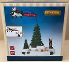 Lemax Village Flying Modern Santa 54925  Animated Effects & Motion 2015 NIB