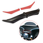 Black Bat Brow Fairing Accent For Harley  Electra Glide Classic FLHTC 1996-2005