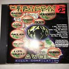Westcoast Trippin VA AWOL KILLA COMP 1998 CD G-RAP VTG 90s HTF OOP Big Lurch