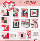 Photo Play Valentine Card Kit So Loved Collection Love hearts