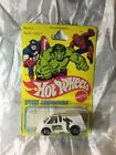 VINTAGE 1980 HOT WHEELS THE HEROES IRON MAN NO 3301 unopened protector case