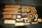 Wagons of the Old West wooden kit by Craft Master - Covered Wagon Incomplete