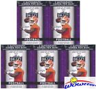 (5) 2017 Leaf Draft Football Factory Sealed 20 Pack Blaster Boxes-10 AUTOGRAPHS!