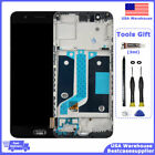 For OnePlus 5 A5000 LCD Display Touch Screen Digitizer + Frame Replacement Black