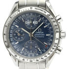 Polished OMEGA Speedmaster Triple Date Steel Automatic Watch 3523.80 BF505893