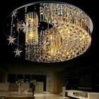 Crystal Acrylic Moon Star Led Light Chandelier Home Decor Ceiling Lamps Lighting