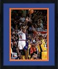 Framed Larry Johnson New York Knicks Signed 8