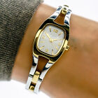 Fossil F2 Womans Watch ES1001 2 Tone Silver Gold Stainless Steel 30m Working