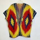 Poncho Native American Style Knitted Kimono