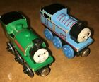 THOMAS THE TRAIN  AND PETER SAM Wooden Magnetic LEARNING CURVE Wood Toy LOT  HTF