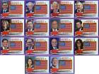 Decision 2016 Political Trading Cards - Full SP Info & Odds Added 25