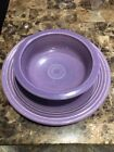 FIESTA® Fiestaware Retired Lilac Serving Platter & Bowl-COMPLETE YOUR COLLECTION