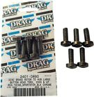 Drag Specialties Rotor Bolt Kit for Cast Wheel Front Black 5-Pack