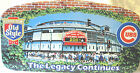 CHICAGO CUBS SIGN WRIGLEY FIELD OLD STYLE The Legacy Continues 2001 Metal LARGE