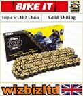 Hyosung GT125 R Supersport 2006-2008 [Triple S Gold CHO] [O-Ring Chain]