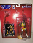 1998 Kenner Kobe Bryant Starting Lineup, Los Angeles Lakers Yellow #8 - Mint!!