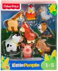 Fisher Price Little People Farm Animal Friends Figure Set of 8 New