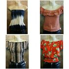 NWT Rue 21 lot of 10 size large summer tops floral tank crop off the shoulder