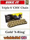 Gilera 200 RV 1986-1988 [Triple S Gold CHX] [X-Ring Chain] CHX520104