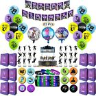 Birthday Party Supplies For Game Fans 83 Pcs Party Decoration Set For Boys Kid