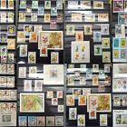 Worldwide Flowers Stamp Collection MNH 15 Full Sets from 15 Different Countries