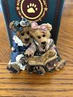 Boyds Bear Bailey And Becky The Diary Figurine Issued 1997 Retired 2001