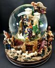 Kirkland Signature Musical Water Globe with Revolving Base LED Nativity Scene