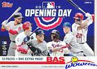 2019 Topps Opening Day Mlb Baseball Huge Factory Sealed Retail Box With 11 Packs