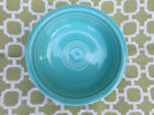 """Fiesta Ware 7"""" Turquoise Cereal Bowl"""