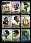 1980 TOPPS FOOTBALL LOT OF 800 MINT *INV1914