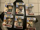 Funko Pop! Saved by the bell complete set With Protectors, Read Description!