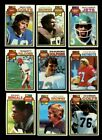 1979 TOPPS FOOTBALL PARTIAL SET 400 528 MINT *INV6207