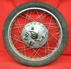Suzuki 250 X6 T20 Front Wheel Rim Axle Tire Brake Hub Super Six Hustler 1966-68