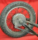 1975 1976 Honda CB500T Rear Wheel Rim Swing Arm Shocks Tire Hub Brakes Complete