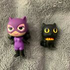 CATWOMAN & ISIS Funko DC Super Heroes & Pets Mystery Minis Vinyl Figures
