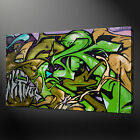 GRAFFITI ART HIGHEST QUALITY CANVAS PRINT PICTURE READY TO HANG
