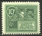 US E7 Mint NH 1908 10c Green Special Delivery 140