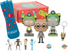 Funko POP! Rick and Morty - Blips and Chitz Complete Box GameStop Exclusive